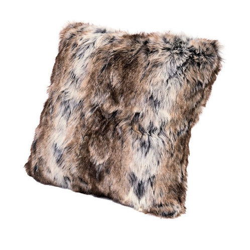 Reindeer Fur Effect Cushion (Faux)