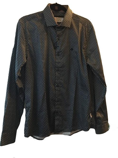 Mish Mash Doro Navy Long Sleeve Shirt