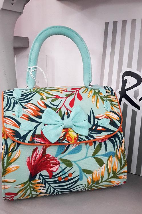 Ruby Shoo Santiago Aqua Handbag