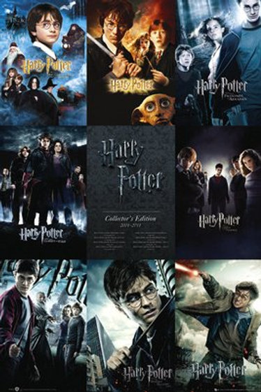 HARRY POTTER Collection Poster (Display Copy)