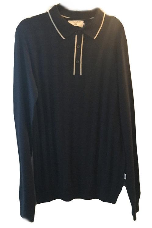 Mish Mash Pinto Navy Knit Shirt