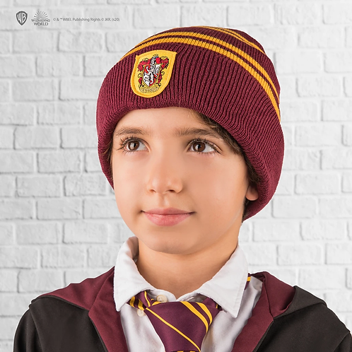 Harry Potter Kids - Gryffindor Gloves and Beanie Set