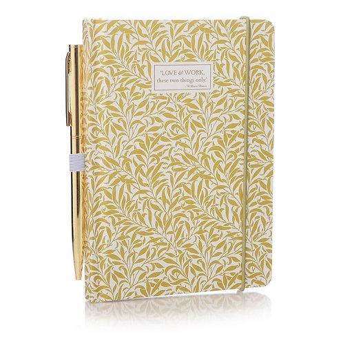 William Morris - Note Book & Pen A6