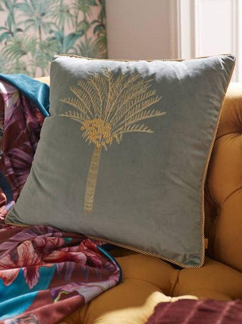 Joe Browns Embroidered Palm Cushion