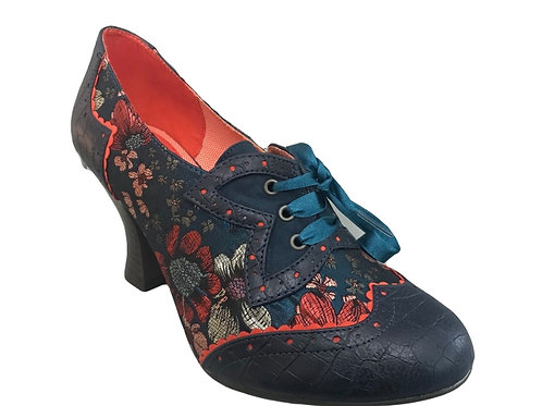 Ruby Shoo Daisy Cyan Shoe