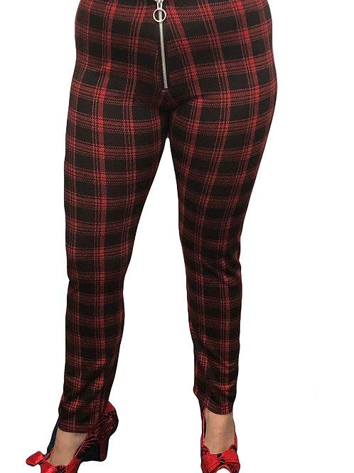 Joe Browns Check Ponte Trousers