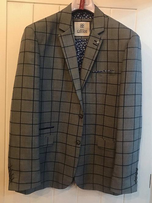 Cavani Macy Grey Check Jacket