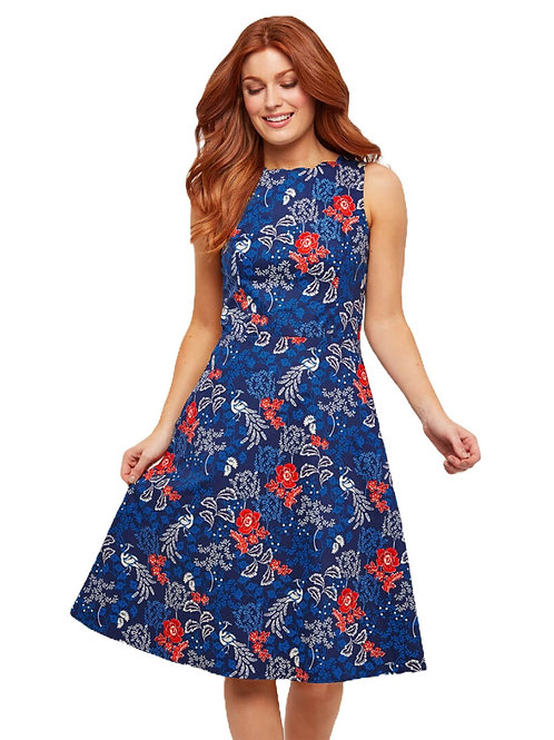 Joe Browns Blue Peacock Dress