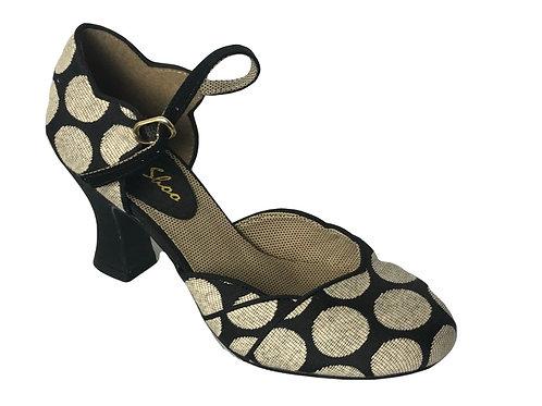 Ruby Shoo Annabel Spotty Bar Shoe