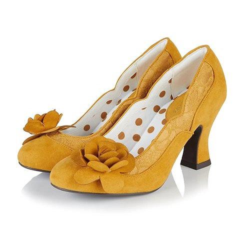 Ruby Shoo Chrissie Ochre Shoe