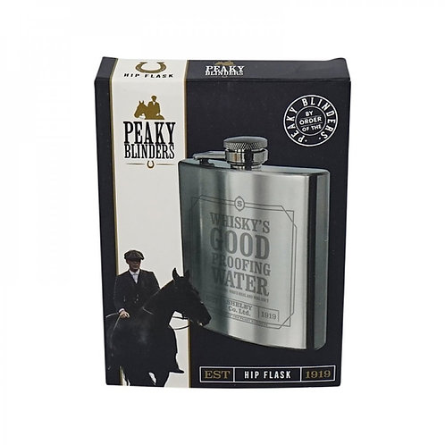 Peaky Blinders Hip Flask Whisky's Good