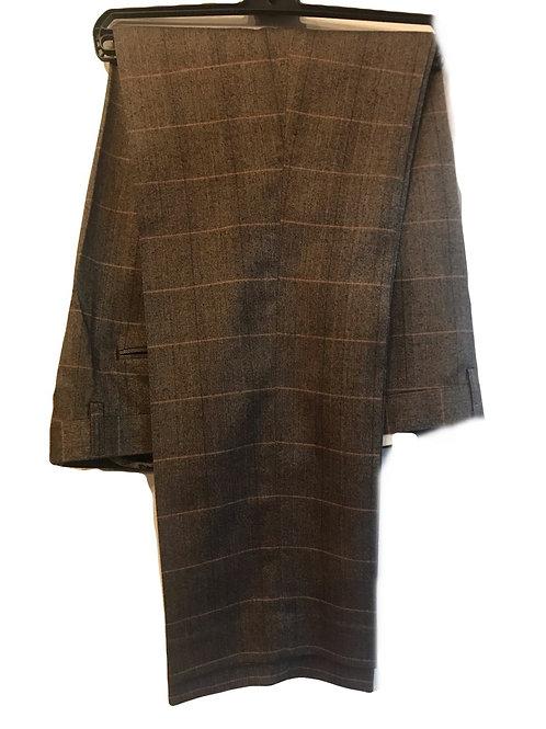 Cavani Carera Brown Check Trousers