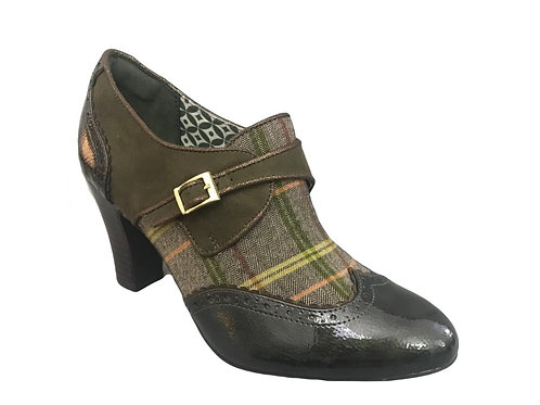 Ruby Shoo Tamsin Olive Shoe