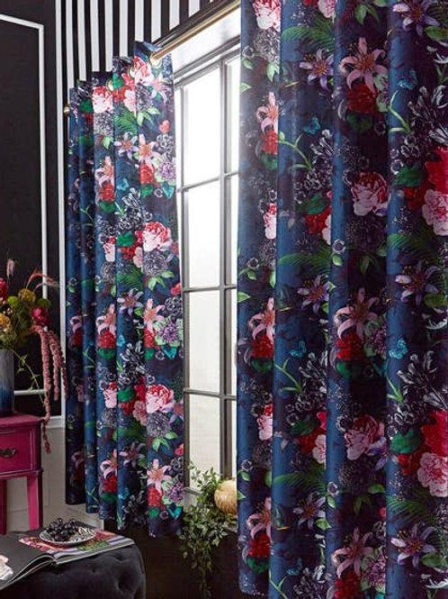 Joe Browns Flowerful Eyelet Curtains