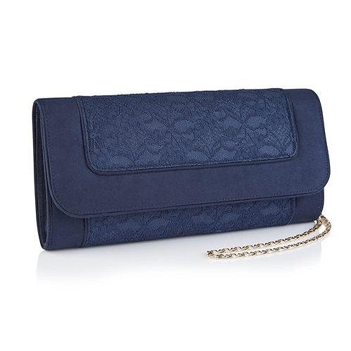 Ruby Shoo Tiriana Navy Clutch Bag