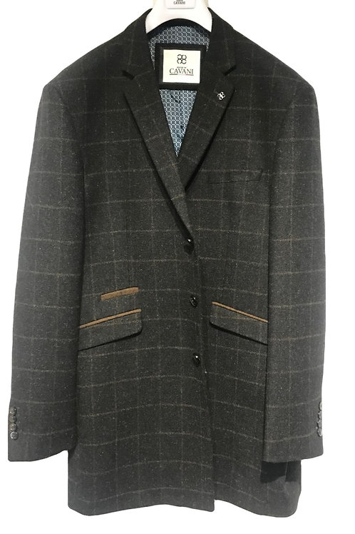 Cavani Kemson Charcoal Tweed Jacket