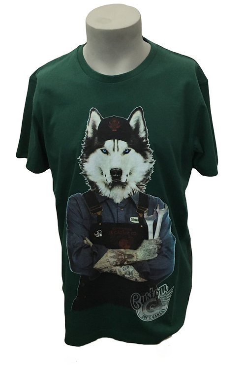 Joe Browns Wolfy Mechanic Men's T-Shirt