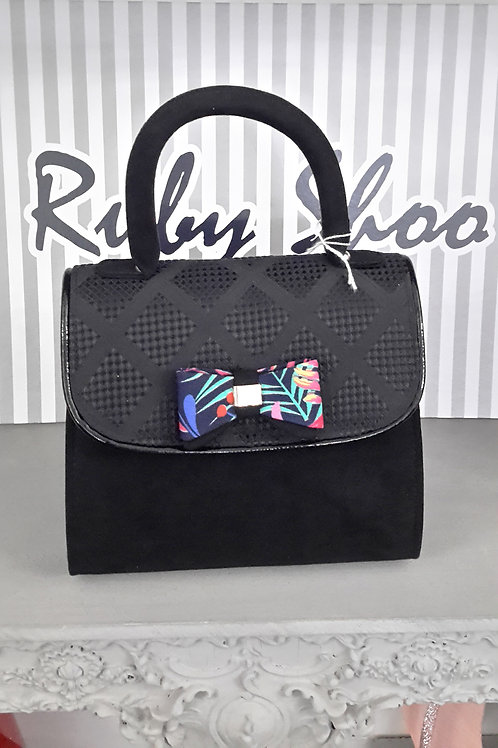 Ruby Shoo Kansas Black Handbag