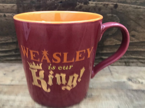 Harry Potter  Mug - Weasley is our king