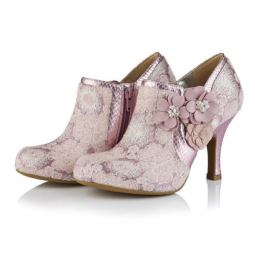 Ruby Shoo Electra Lilac Shoe Boot