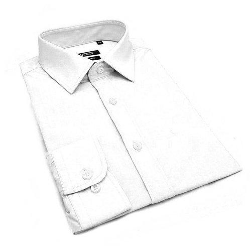 Cavani White Tailored Fit Shirt CV75