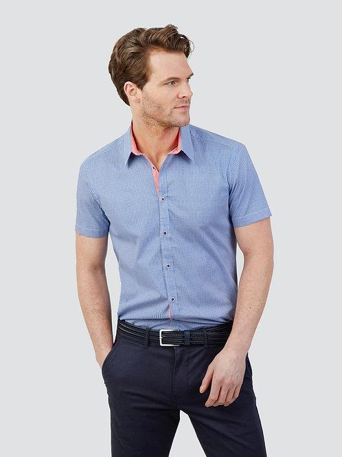 Mish Mash Lucia Geometric Print Shirt - Short Sleeve