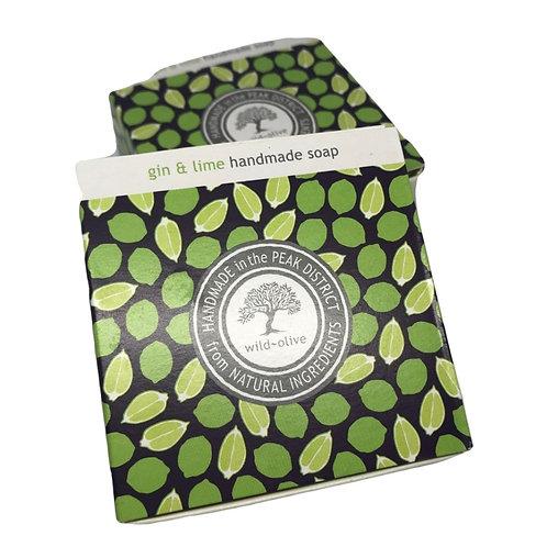 Wild Olive Handmade Vegan Soap - Gin & Lime