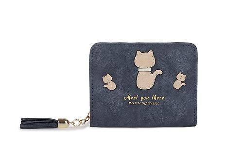 Women's  Cute Cat Small Purse Wallet 12294-c