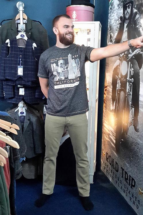 California Grey Men's T-Shirt