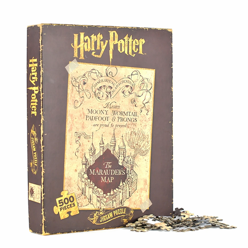 Harry Potter Jigsaw Puzzle - Marauder's Map