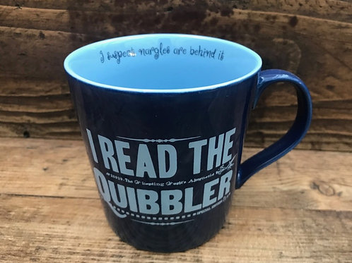Harry Potter Mug - I read the Quibbler (Luna Lovegood)