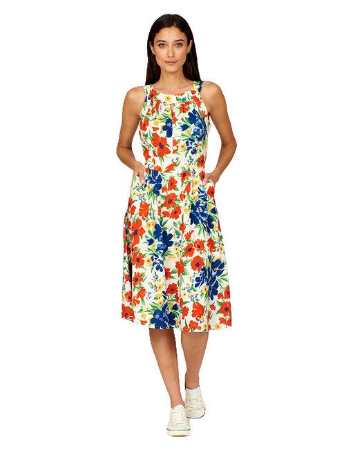 Pretty Vacant Esme Flower Show Print Dress
