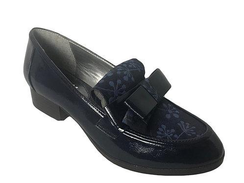 Ruby Shoo Gabriella Navy Shoe
