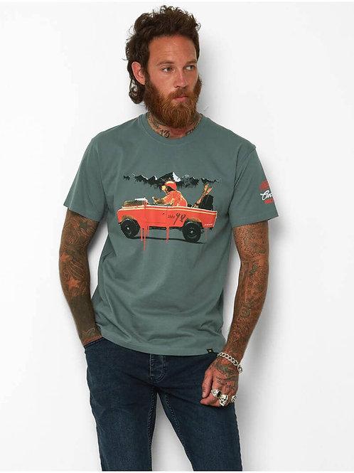 Joe Browns Bear In A Jeep Tee