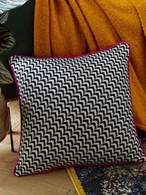 Monochrome Reversible Cushion