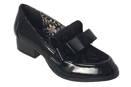 Ruby Shoo Gabriella Black Shoe