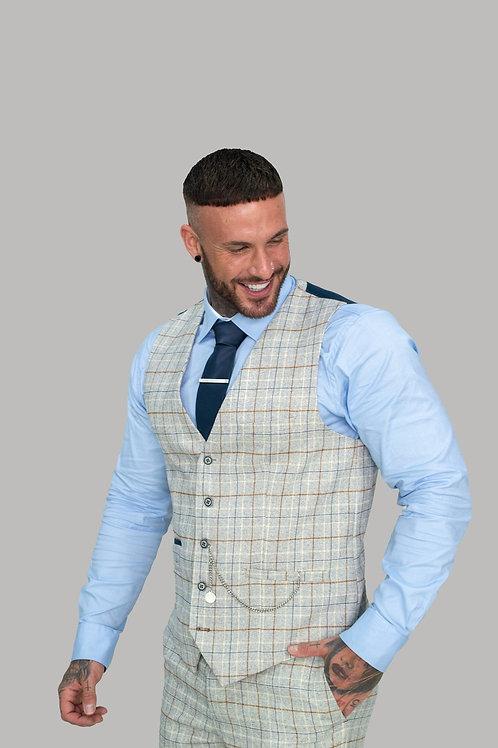 Cavani Cody Ice Check Waistcoat