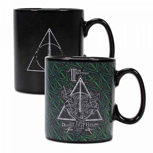 Harry Potter  Colour Change Mug Deathly Hallows