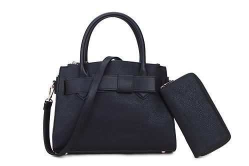 Women's Bow Hand Bag & Purse Set 69911