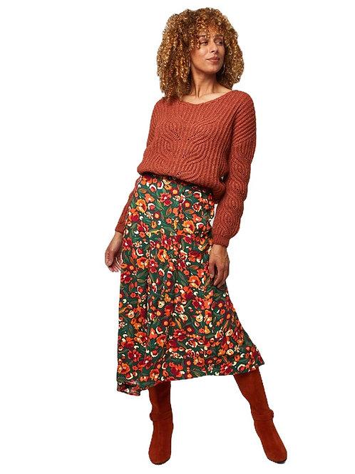 Joe Browns Autumnal Floral Skirt