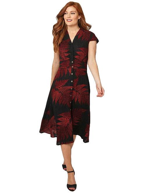 Joe  Browns Perfect Palm Linen Mix Dress