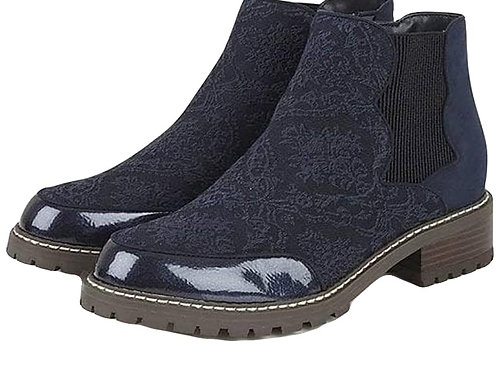 Ruby Shoo Ronni Low heel elastic sided ankle boot