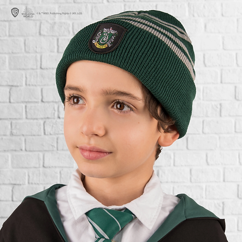 Harry Potter Kids Slytherin Gloves and Beanie set
