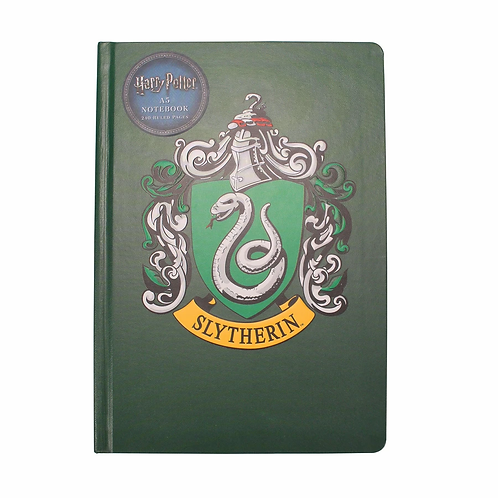 Harry Potter A5 Notebook - Slytherin