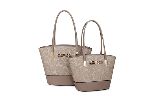 Women's Small Lace Tote Bag 96653