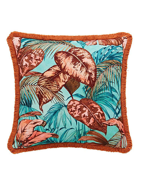 Joe Browns Truly Tropical Reversible Fringe Cushion