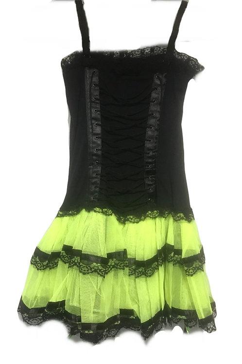Burleska Neon Lingerie Dress