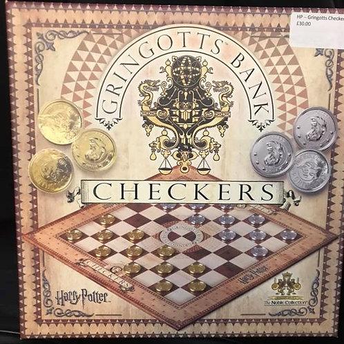 Harry Potter Gringotts Checkers Set