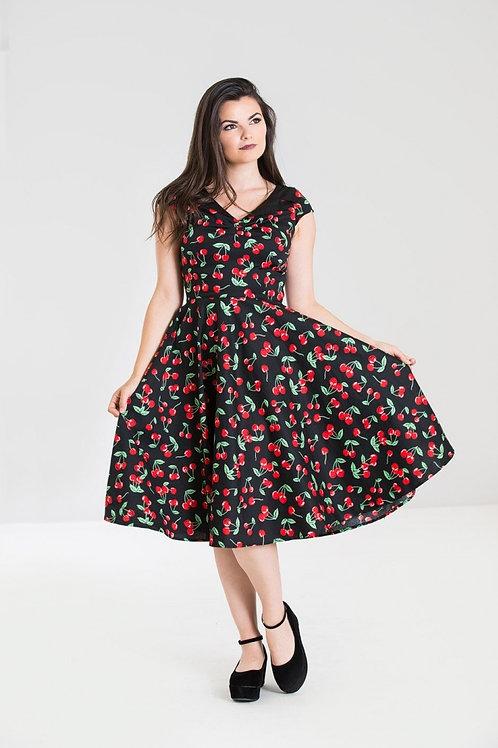 Hell Bunny Cherry Pop 50S Dress