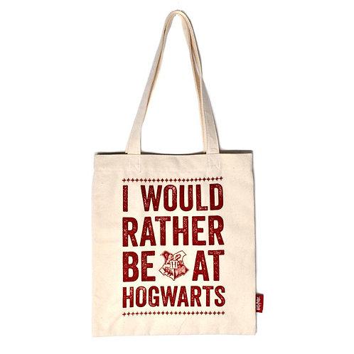 Harry Potter Shopper Bag - I'd rather be at Hogwarts